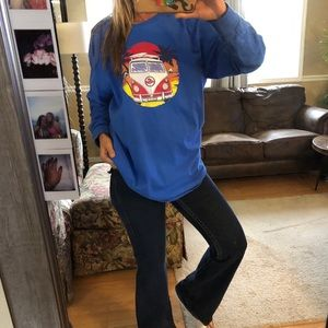 vintage koloa hawaii surf long sleeve tee